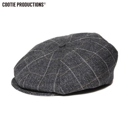 COOTIE Melange Wool Casquette