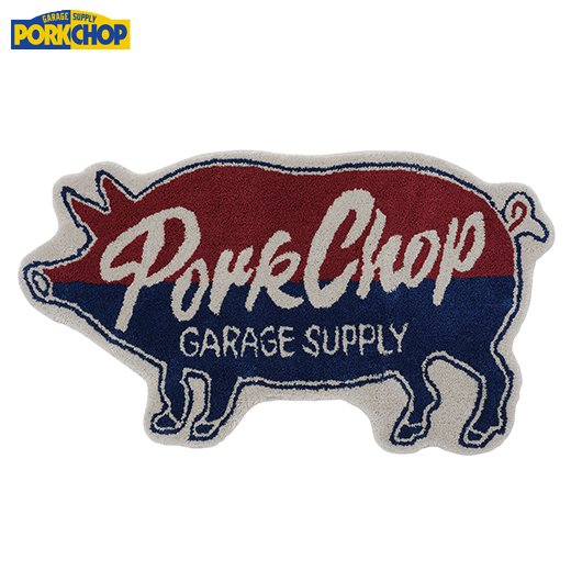 PORKCHOP Pork Rug<img class='new_mark_img2' src='https://img.shop-pro.jp/img/new/icons50.gif' style='border:none;display:inline;margin:0px;padding:0px;width:auto;' />