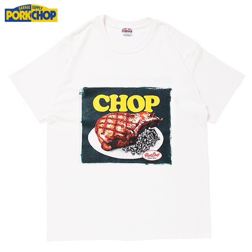 PORKCHOP Chop Tee<img class='new_mark_img2' src='https://img.shop-pro.jp/img/new/icons7.gif' style='border:none;display:inline;margin:0px;padding:0px;width:auto;' />