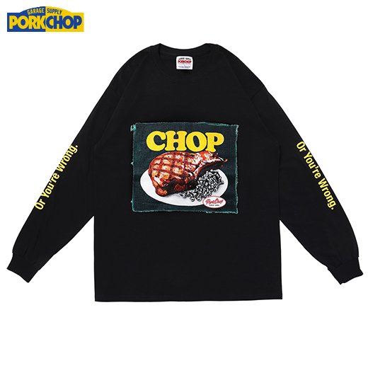 PORKCHOP Chop L/S Tee<img class='new_mark_img2' src='https://img.shop-pro.jp/img/new/icons7.gif' style='border:none;display:inline;margin:0px;padding:0px;width:auto;' />