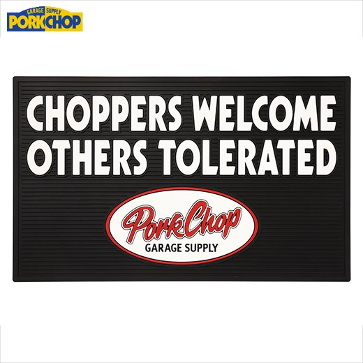 PORKCHOP Welcome Rubber Mat