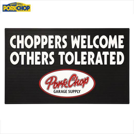 PORKCHOP Welcome Rubber Mat