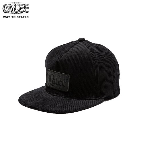 CALEE Corduroy Leather Wappen Cap<img class='new_mark_img2' src='https://img.shop-pro.jp/img/new/icons50.gif' style='border:none;display:inline;margin:0px;padding:0px;width:auto;' />