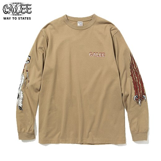 CALEE Multi Print L/S T-Shirt<img class='new_mark_img2' src='https://img.shop-pro.jp/img/new/icons50.gif' style='border:none;display:inline;margin:0px;padding:0px;width:auto;' />