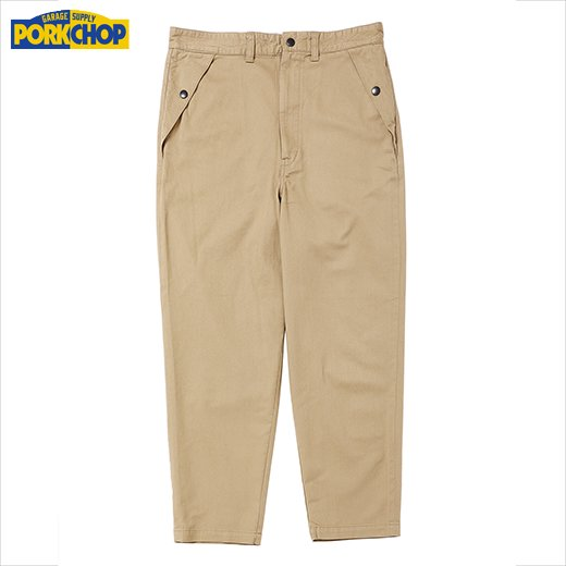 PORKCHOP LOOSE FIT CHINO<img class='new_mark_img2' src='https://img.shop-pro.jp/img/new/icons50.gif' style='border:none;display:inline;margin:0px;padding:0px;width:auto;' />