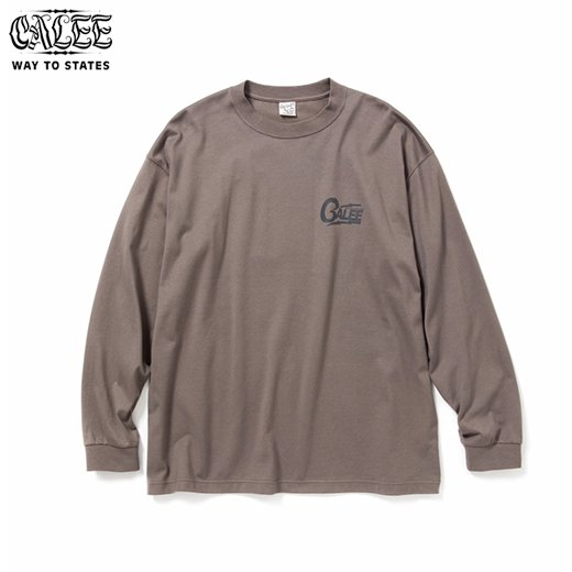 CALEE Drop Shoulder L/S T-shirt<img class='new_mark_img2' src='https://img.shop-pro.jp/img/new/icons6.gif' style='border:none;display:inline;margin:0px;padding:0px;width:auto;' />