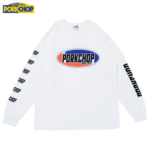PORKCHOP 2nd Oval L/S Tee<img class='new_mark_img2' src='https://img.shop-pro.jp/img/new/icons7.gif' style='border:none;display:inline;margin:0px;padding:0px;width:auto;' />