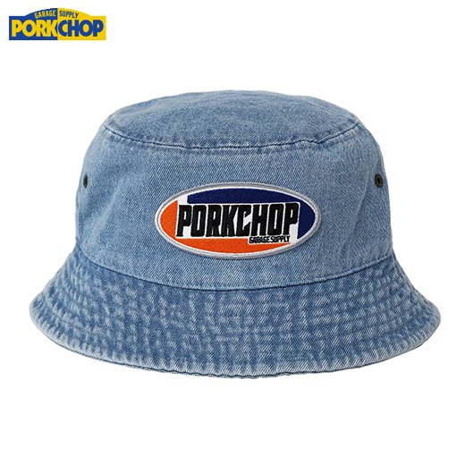 PORKCHOP 2nd Oval Bucket Hat<img class='new_mark_img2' src='https://img.shop-pro.jp/img/new/icons50.gif' style='border:none;display:inline;margin:0px;padding:0px;width:auto;' />