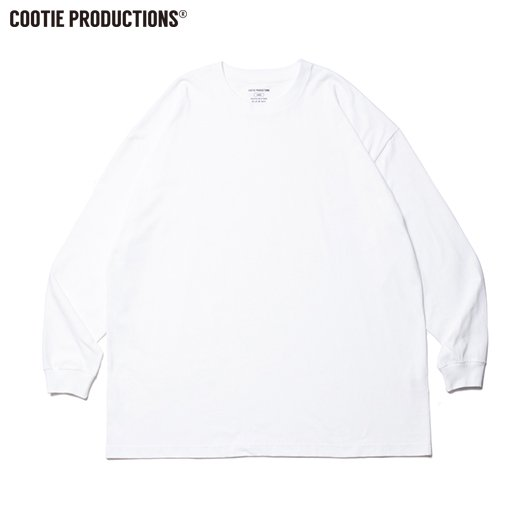 COOTIE Open End Yarn Error Fit L/S Tee