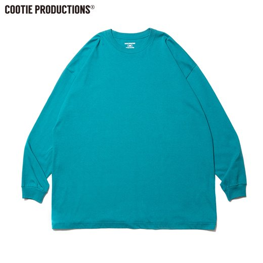 COOTIE Open End Yarn Error Fit L/S Tee <img class='new_mark_img2' src='https://img.shop-pro.jp/img/new/icons7.gif' style='border:none;display:inline;margin:0px;padding:0px;width:auto;' />