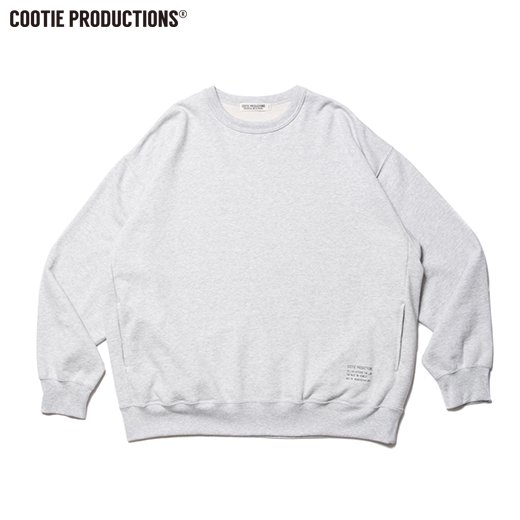 COOTIE Plain Crewneck Sweatshirt<img class='new_mark_img2' src='https://img.shop-pro.jp/img/new/icons50.gif' style='border:none;display:inline;margin:0px;padding:0px;width:auto;' />