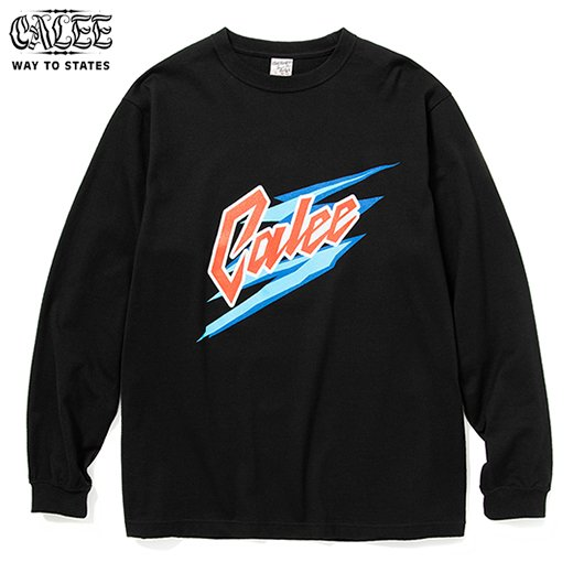 CALEE Logo Print L/S T-shirt<img class='new_mark_img2' src='https://img.shop-pro.jp/img/new/icons6.gif' style='border:none;display:inline;margin:0px;padding:0px;width:auto;' />