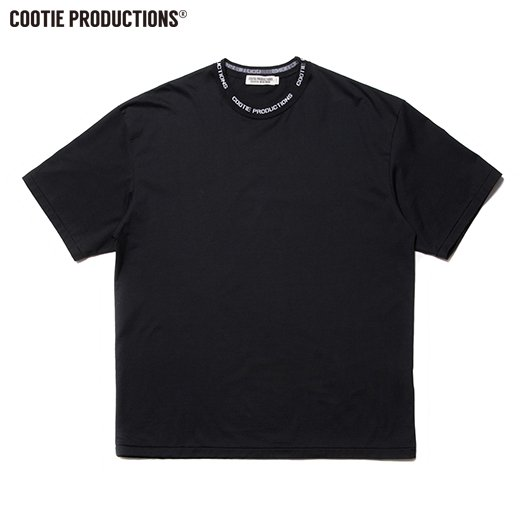 COOTIE Supima Cotton Jacquard Neck S/S Tee  <img class='new_mark_img2' src='https://img.shop-pro.jp/img/new/icons50.gif' style='border:none;display:inline;margin:0px;padding:0px;width:auto;' />