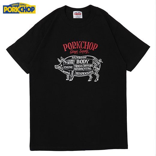 PORKCHOP Choppers Welcome Tee<img class='new_mark_img2' src='https://img.shop-pro.jp/img/new/icons50.gif' style='border:none;display:inline;margin:0px;padding:0px;width:auto;' />