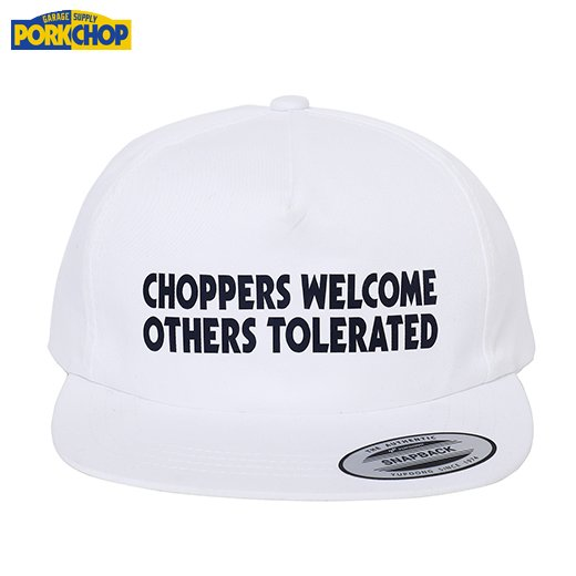 PORKCHOP Choppers Welcome Cap<img class='new_mark_img2' src='https://img.shop-pro.jp/img/new/icons7.gif' style='border:none;display:inline;margin:0px;padding:0px;width:auto;' />