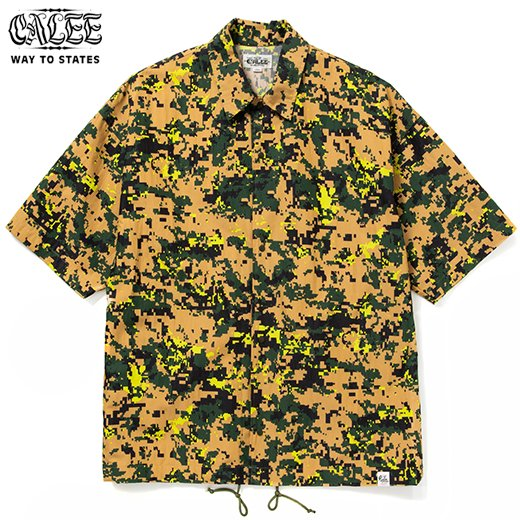 CALEE C/N Digital Camouflage S/S Shirt Jacket<img class='new_mark_img2' src='https://img.shop-pro.jp/img/new/icons6.gif' style='border:none;display:inline;margin:0px;padding:0px;width:auto;' />