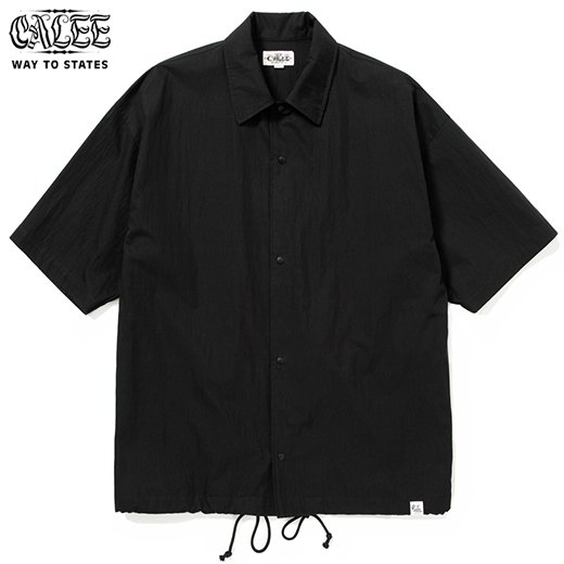 CALEE C/N Plain S/S Shirt Jacket<img class='new_mark_img2' src='https://img.shop-pro.jp/img/new/icons50.gif' style='border:none;display:inline;margin:0px;padding:0px;width:auto;' />