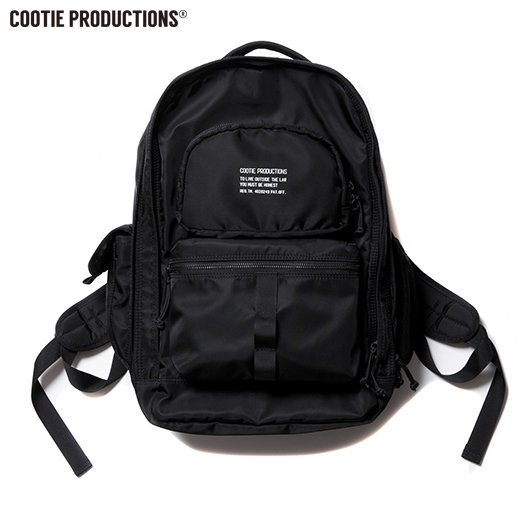 COOTIE Nylon Backpack<img class='new_mark_img2' src='https://img.shop-pro.jp/img/new/icons50.gif' style='border:none;display:inline;margin:0px;padding:0px;width:auto;' />