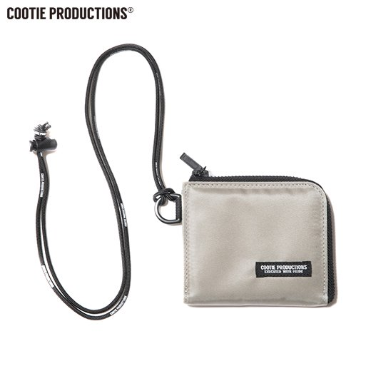 COOTIE Compact Nylon Wallet<img class='new_mark_img2' src='https://img.shop-pro.jp/img/new/icons7.gif' style='border:none;display:inline;margin:0px;padding:0px;width:auto;' />