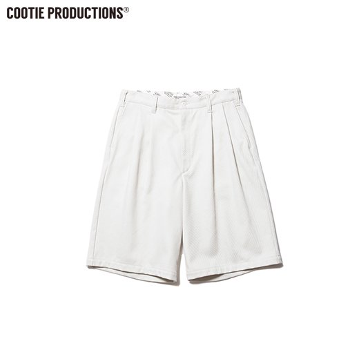 COOTIE Kersey 2 Tuck Wide Shorts