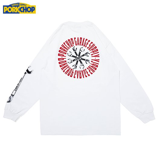 PORKCHOP Wrench L/S Tee<img class='new_mark_img2' src='https://img.shop-pro.jp/img/new/icons7.gif' style='border:none;display:inline;margin:0px;padding:0px;width:auto;' />
