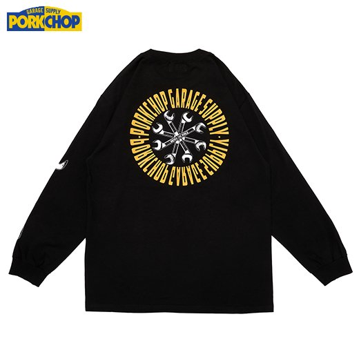 PORKCHOP Wrench L/S Tee<img class='new_mark_img2' src='https://img.shop-pro.jp/img/new/icons50.gif' style='border:none;display:inline;margin:0px;padding:0px;width:auto;' />