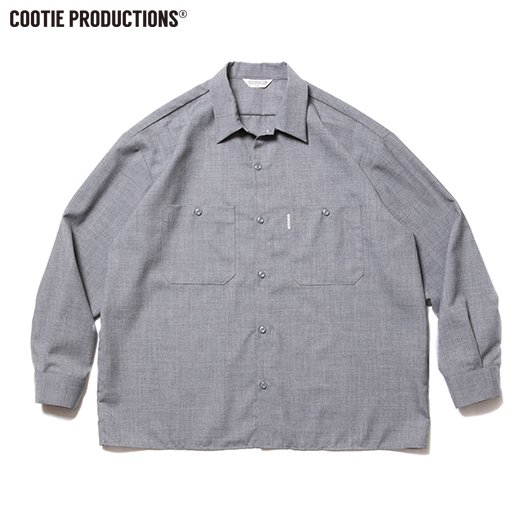 COOTIE T/W Work L/S Shirt<img class='new_mark_img2' src='https://img.shop-pro.jp/img/new/icons7.gif' style='border:none;display:inline;margin:0px;padding:0px;width:auto;' />