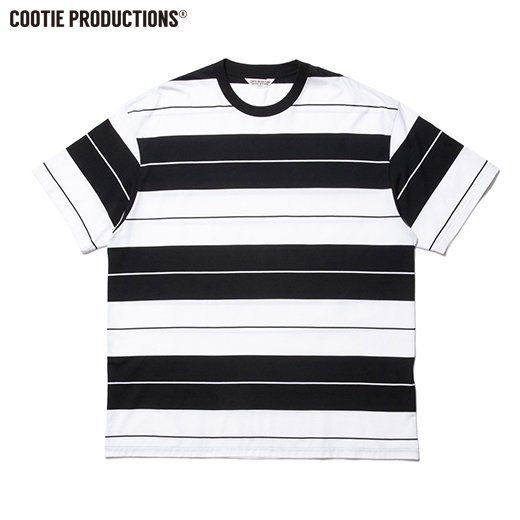 COOTIE Supima Cotton Border S/S Tee<img class='new_mark_img2' src='https://img.shop-pro.jp/img/new/icons7.gif' style='border:none;display:inline;margin:0px;padding:0px;width:auto;' />