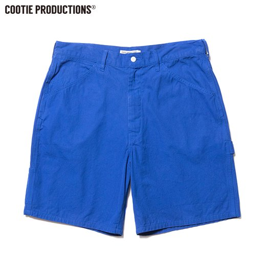 COOTIE Hard Twist Yarm Canvas Painter Shorts