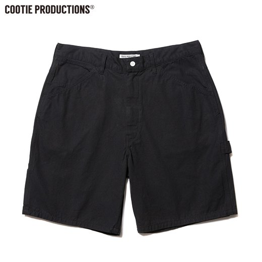 COOTIE Hard Twist Yarm Canvas Painter Shorts <img class='new_mark_img2' src='https://img.shop-pro.jp/img/new/icons7.gif' style='border:none;display:inline;margin:0px;padding:0px;width:auto;' />