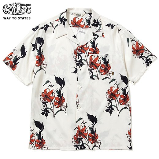 CALEE Allover Flower Pattern S/S Shirt<img class='new_mark_img2' src='https://img.shop-pro.jp/img/new/icons50.gif' style='border:none;display:inline;margin:0px;padding:0px;width:auto;' />