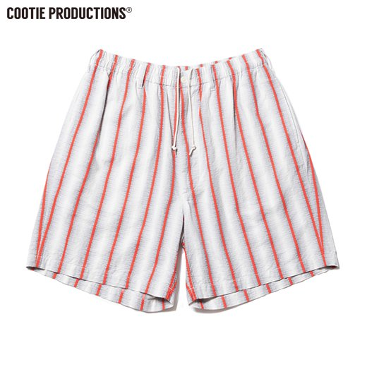 COOTIE Snake Stripe Easy Shorts <img class='new_mark_img2' src='https://img.shop-pro.jp/img/new/icons7.gif' style='border:none;display:inline;margin:0px;padding:0px;width:auto;' />