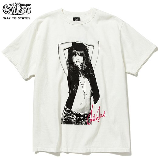 CALEE ×BPA Cal Girl T-shirt<img class='new_mark_img2' src='https://img.shop-pro.jp/img/new/icons50.gif' style='border:none;display:inline;margin:0px;padding:0px;width:auto;' />