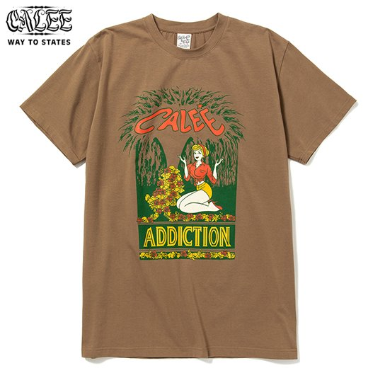CALEE Stretch Addiction T-Shirt<img class='new_mark_img2' src='https://img.shop-pro.jp/img/new/icons50.gif' style='border:none;display:inline;margin:0px;padding:0px;width:auto;' />