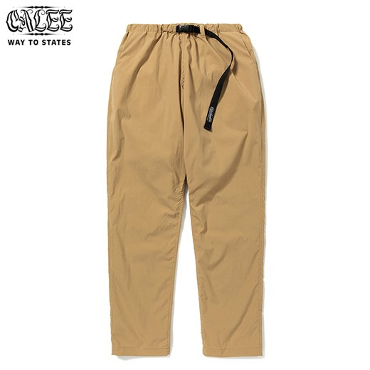 CALEE Polyester Typewriter Easy Pants<img class='new_mark_img2' src='https://img.shop-pro.jp/img/new/icons50.gif' style='border:none;display:inline;margin:0px;padding:0px;width:auto;' />
