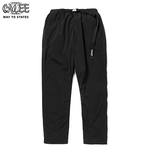 CALEE Polyester Typewriter Easy Pants<img class='new_mark_img2' src='https://img.shop-pro.jp/img/new/icons6.gif' style='border:none;display:inline;margin:0px;padding:0px;width:auto;' />
