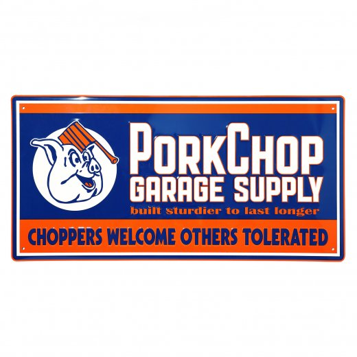 PORKCHOP Metal Sign<img class='new_mark_img2' src='https://img.shop-pro.jp/img/new/icons7.gif' style='border:none;display:inline;margin:0px;padding:0px;width:auto;' />