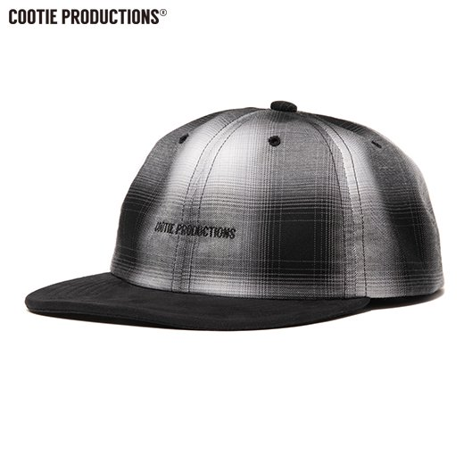 COOTIE Ombre Check 6 Panel Cap <img class='new_mark_img2' src='https://img.shop-pro.jp/img/new/icons50.gif' style='border:none;display:inline;margin:0px;padding:0px;width:auto;' />