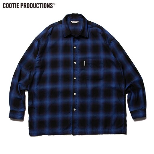 COOTIE Ombre Check L/S Shirt<img class='new_mark_img2' src='https://img.shop-pro.jp/img/new/icons7.gif' style='border:none;display:inline;margin:0px;padding:0px;width:auto;' />