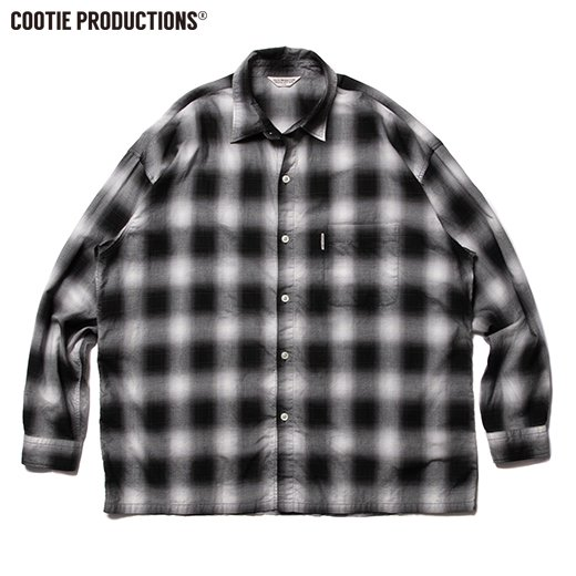 COOTIE Ombre Check L/S Shirt<img class='new_mark_img2' src='https://img.shop-pro.jp/img/new/icons50.gif' style='border:none;display:inline;margin:0px;padding:0px;width:auto;' />