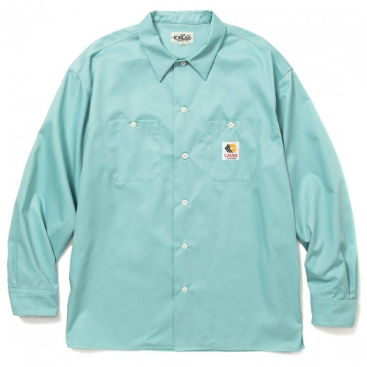 CALEE T/C Twill L/S Work Shirt<img class='new_mark_img2' src='https://img.shop-pro.jp/img/new/icons50.gif' style='border:none;display:inline;margin:0px;padding:0px;width:auto;' />