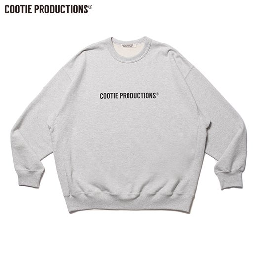 COOTIE Print Crewneck Sweatshirt (COOTIE LOGO)<img class='new_mark_img2' src='https://img.shop-pro.jp/img/new/icons7.gif' style='border:none;display:inline;margin:0px;padding:0px;width:auto;' />