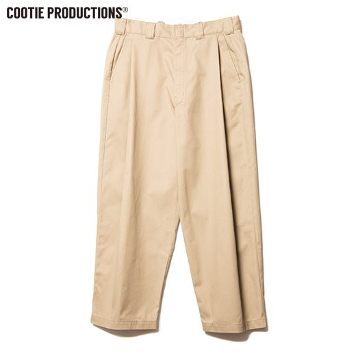 COOTIE Raza 1 Tuck Trousers<img class='new_mark_img2' src='https://img.shop-pro.jp/img/new/icons50.gif' style='border:none;display:inline;margin:0px;padding:0px;width:auto;' />