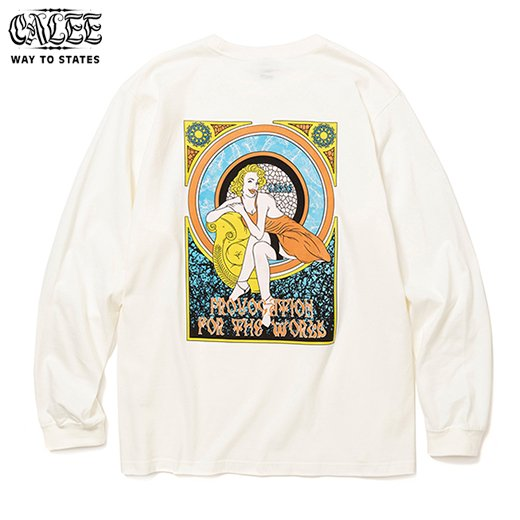 CALEE Provocation For The World L/S T-shirt<img class='new_mark_img2' src='https://img.shop-pro.jp/img/new/icons6.gif' style='border:none;display:inline;margin:0px;padding:0px;width:auto;' />