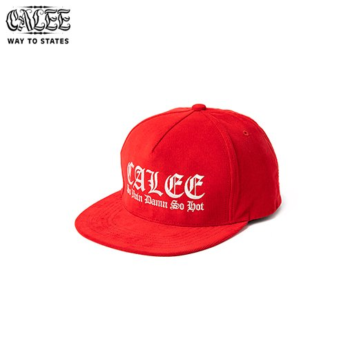 CALEE Embroidery Corduroy Cap<img class='new_mark_img2' src='https://img.shop-pro.jp/img/new/icons6.gif' style='border:none;display:inline;margin:0px;padding:0px;width:auto;' />