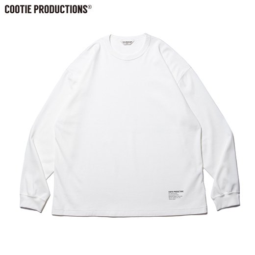 COOTIE Compact Yarn Honeycomb L/S Tee<img class='new_mark_img2' src='https://img.shop-pro.jp/img/new/icons50.gif' style='border:none;display:inline;margin:0px;padding:0px;width:auto;' />