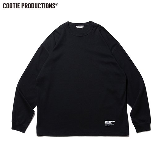 COOTIE Compact Yarn Honeycomb L/S Tee<img class='new_mark_img2' src='https://img.shop-pro.jp/img/new/icons7.gif' style='border:none;display:inline;margin:0px;padding:0px;width:auto;' />