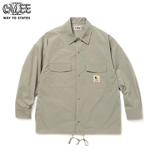 CALEE Seekers Shirt Jacket<img class='new_mark_img2' src='https://img.shop-pro.jp/img/new/icons50.gif' style='border:none;display:inline;margin:0px;padding:0px;width:auto;' />