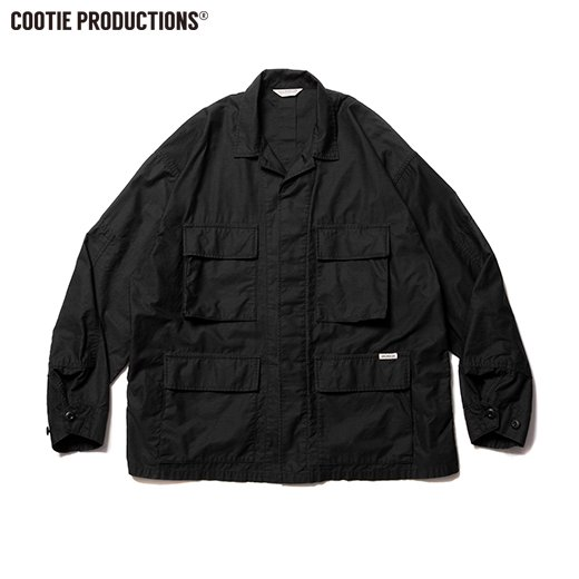 COOTIE Back Satin BDU Jacket<img class='new_mark_img2' src='https://img.shop-pro.jp/img/new/icons7.gif' style='border:none;display:inline;margin:0px;padding:0px;width:auto;' />
