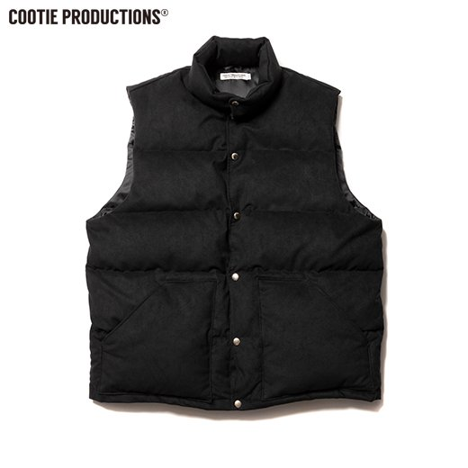 COOTIE Fake Suede Down Vest<img class='new_mark_img2' src='https://img.shop-pro.jp/img/new/icons50.gif' style='border:none;display:inline;margin:0px;padding:0px;width:auto;' />